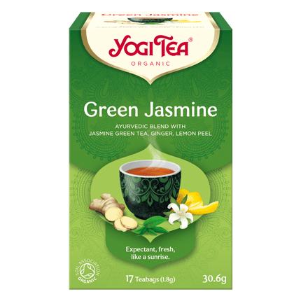 YOGI TĒJA GREEN JASMINE